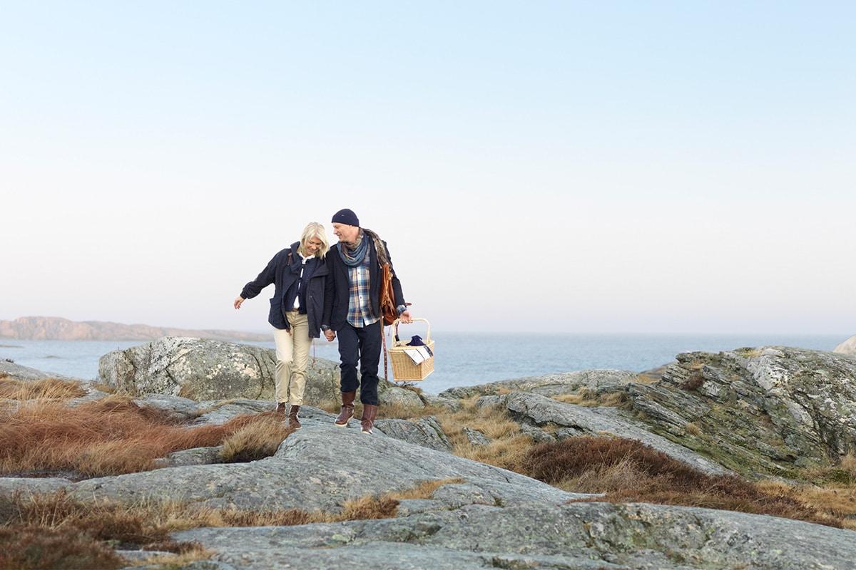 Promenad bland Smögens & Smögens Hafvsbad klipport