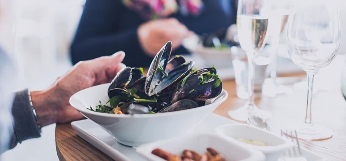 Restaurang och mat på Smögens Hafvsbad