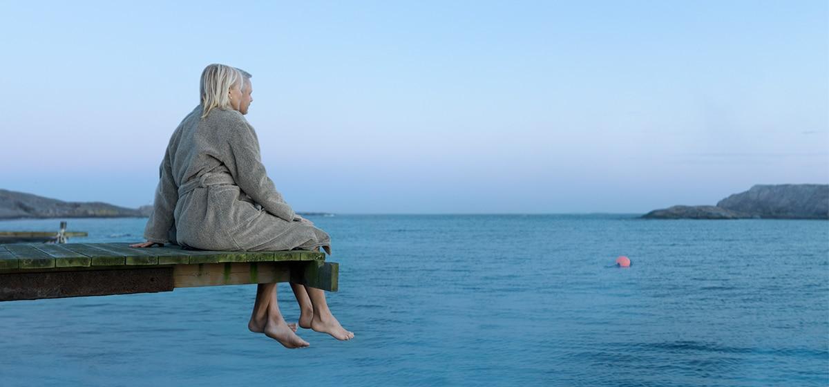 Kallbad på Smögens hafvsbad, Morgonsol, Aftonbris och Heldagsnjutning