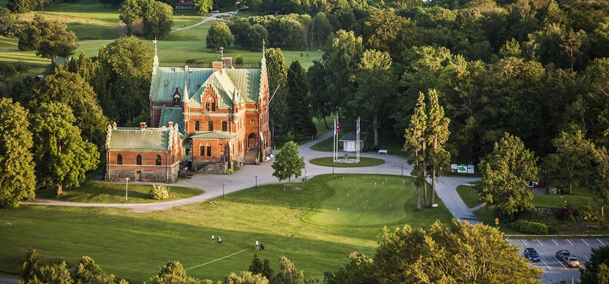 Gold på torreby golfklubb Smögens Hafvsbad