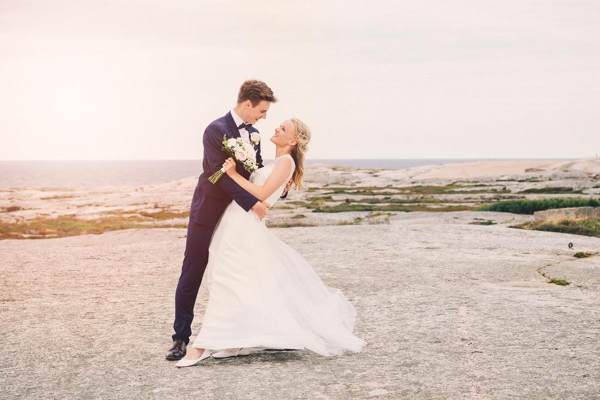 Bröllop på Smögen, västkusten, bohuslän och Smögens Hafvsbad