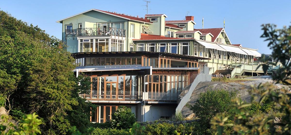 Hotell Smögens Hafvsbad fasad