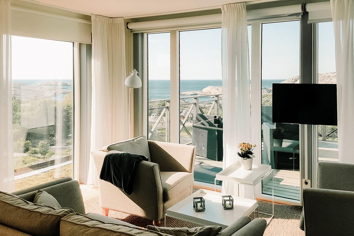 Svit och hotellrum på Smögen Hafvsbad