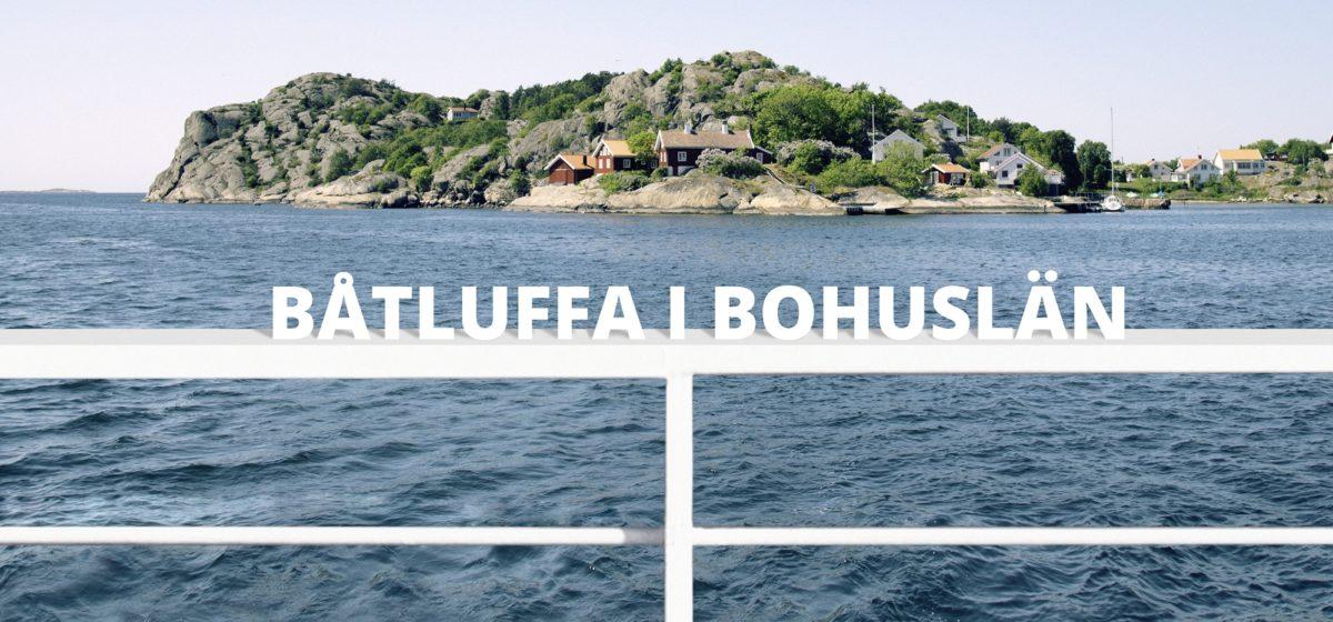 Båtluffa i Bohuslän